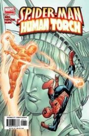 Spider-man Human Torch